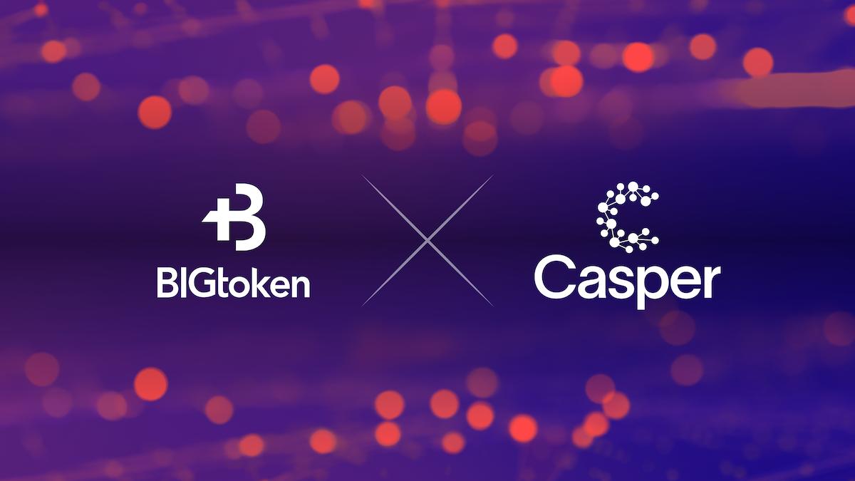 BIGtoken Migrating Infrastructure to the Casper Network