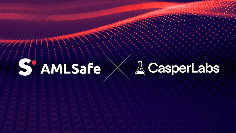 AMLSafe and CasperLabs Partner to Bring Secure, Non-Custodial Wallet to the Casper Network